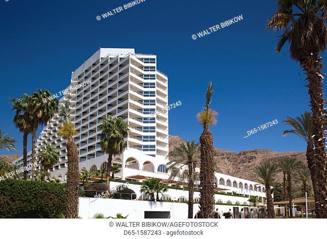 Israel, The Negev, Eilat, Red Sea, Orchid Resort Hotel