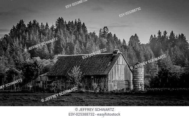 A farm in N. California, USA