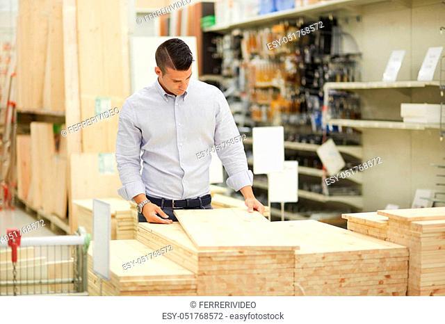 customer at hardware store