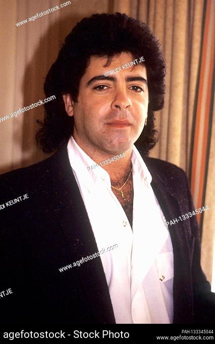 Rick Vito of Fleetwood Mac during an interview in a hotel. London, September 15, 1988 | usage worldwide. - London/London/Grossbritannien