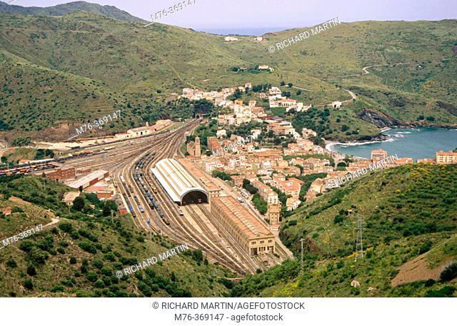 Portbou. L'Albera Natural Environment. Girona province. Spain