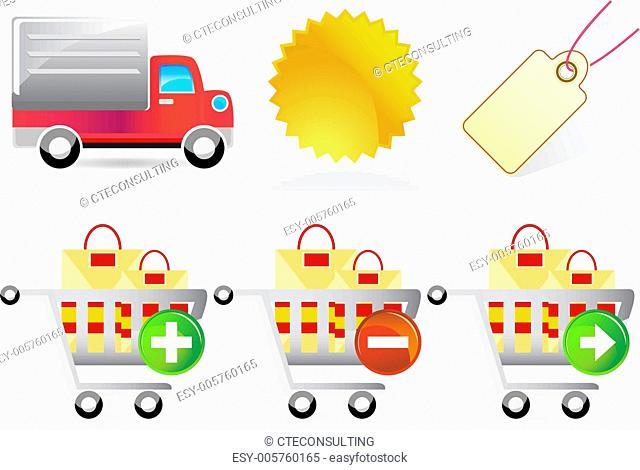 Retail Website Icons