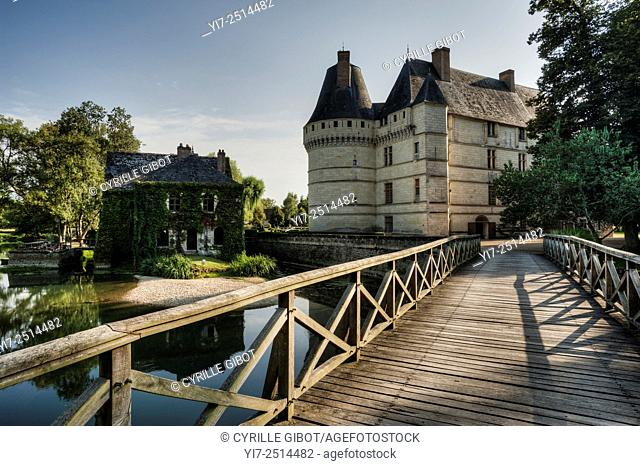 France, Loire Valley, Indre et Loire, Islette castle, Chateau de l'Islette. The French sculptor Auguste Rodin visited the castle and his lover Camille Claudel...