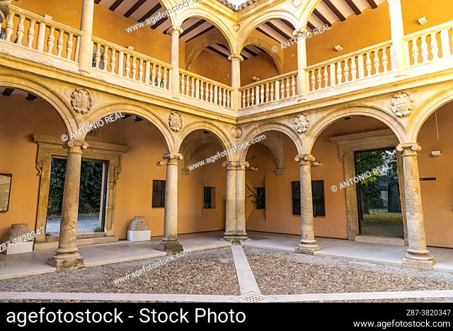 Palace of the Counts of Cirat or Casa Grande. Almansa. Albacete