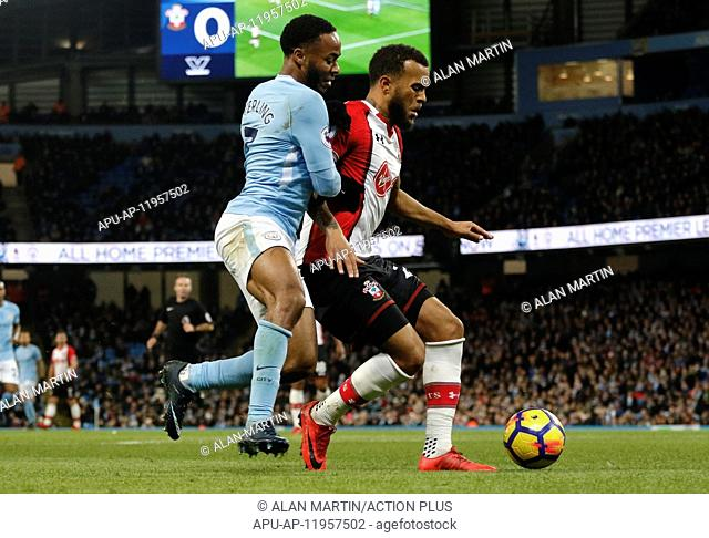 2017 EPL Premier League Man City v Southampton Nov 29th. 29th November 2017, Etihad Stadium, Manchester, England; EPL Premier League football