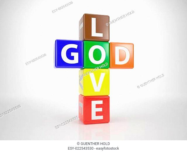 God and Love out of Letterdices 1