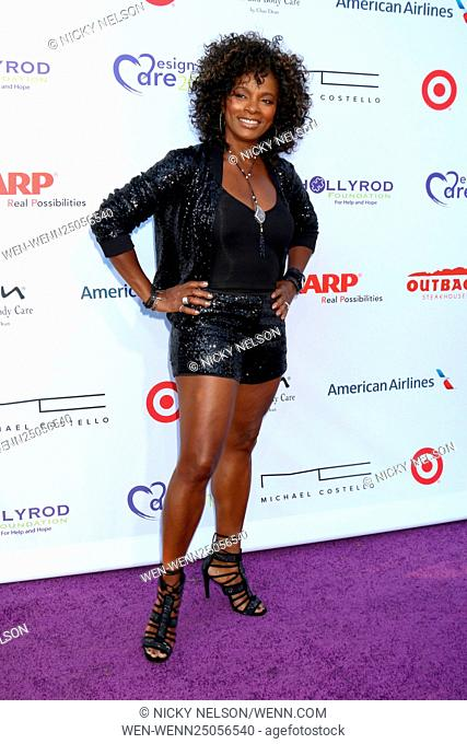 HollyRod Presents 18th Annual DesignCare at the Sugar Ray Leonard's Estate on July 16, 2016 in Pacific Palisades, CA Featuring: Vanessa Bell Calloway Where:...