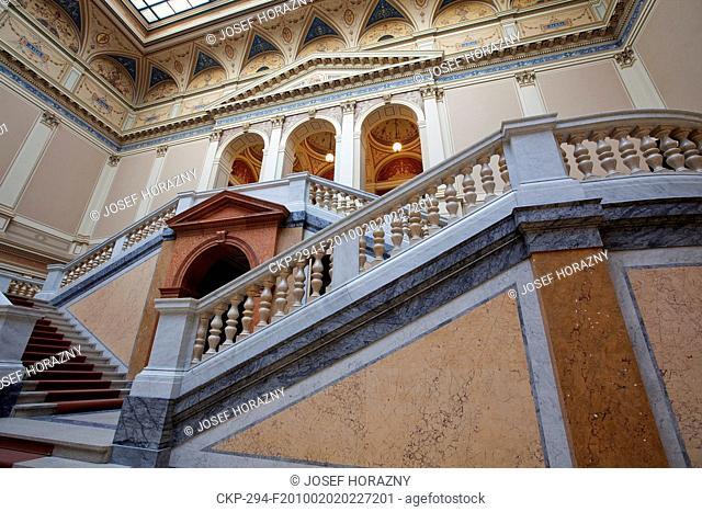 Vestibule in the House of Arts Rudolfinum in Prague CTK Photo/Josef Horazny, Martin Sterba