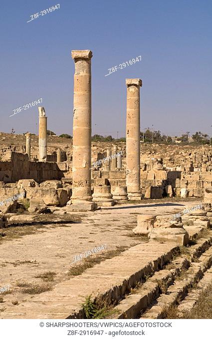Sabratha Roman site, Tripolitania, Libya