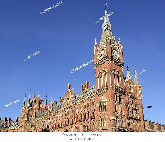 St Pancras Station, London, United Kingdom