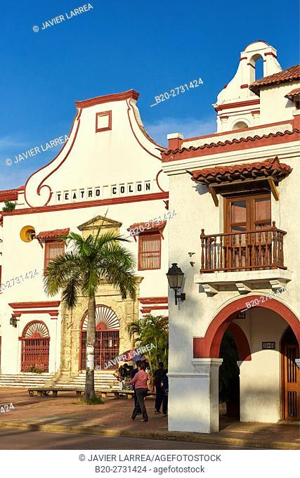 Convento de San Francisco, Cartagena de Indias, Bolivar, Colombia, South America