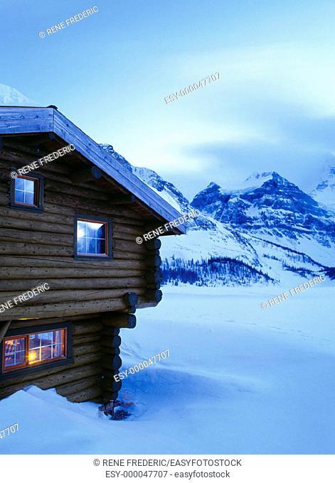 Mt. Assiniboine Lodge. Mount Assiniboine Provincial Park, Canadian Rockies. British Columbia, Canada