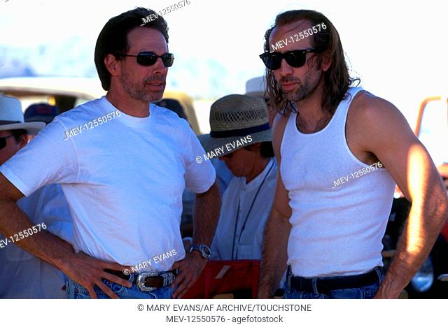 Jerry Bruckheimer & Nicolas Cage Characters: Cameron Poe Film: Con Air (1997) Director: Simon West 05 June 1997