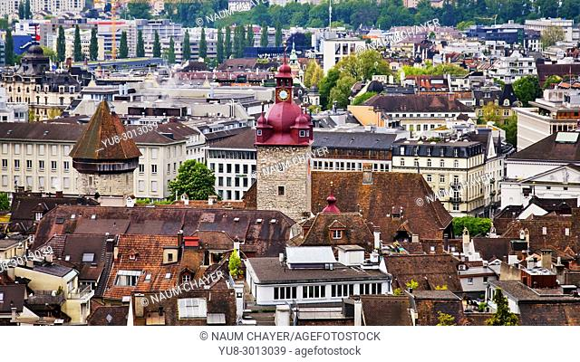 Lucerne, north-central Switzerland, Europe