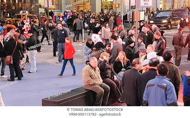Times Square, 42 nd Street, Manhattan, Broadway, New York City, USA