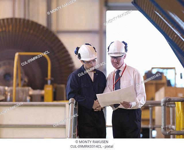 Engineers In Turbine Hall
