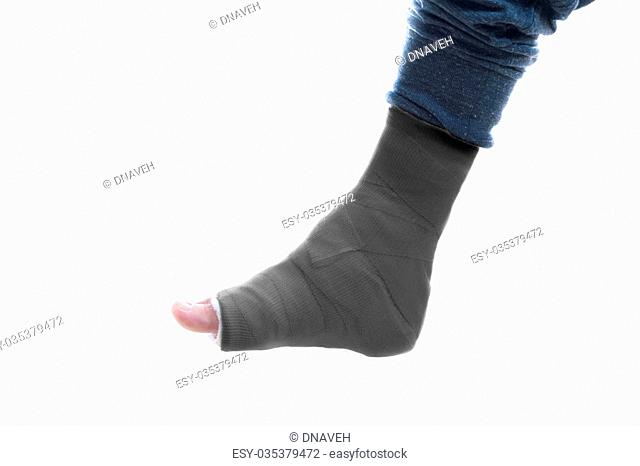 Leg cast Stock Photos and Images | age fotostock
