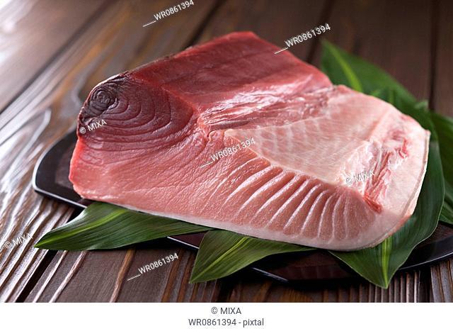 Block of Pacific Bluefin Tuna