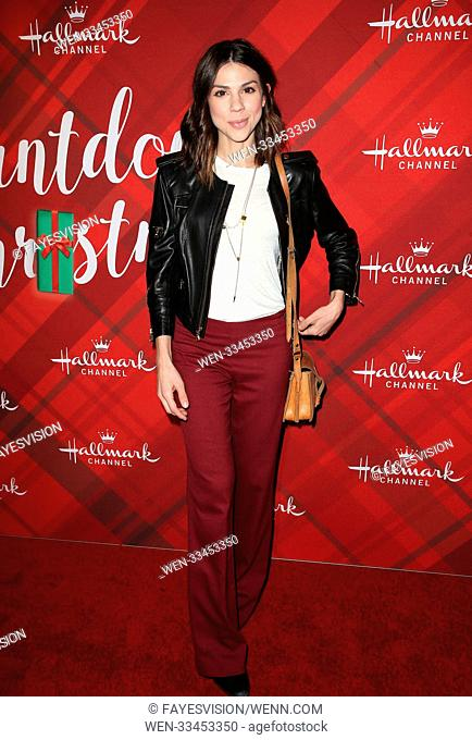 Hallmark Channel Screening of Christmas at Holly Lodge Featuring: Kate Mansi Where: Los Angeles, California, United States When: 04 Dec 2017 Credit:...