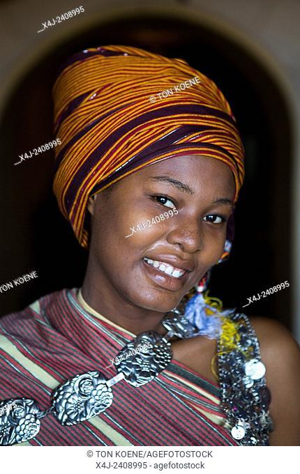 Miriam Hamid, young woman from Zanzibar