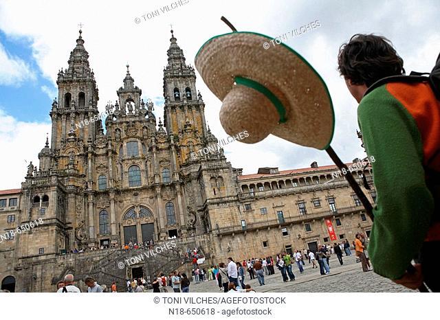 Cathedral, Santiago de Compostela. La Coruña province, Galicia, Spain