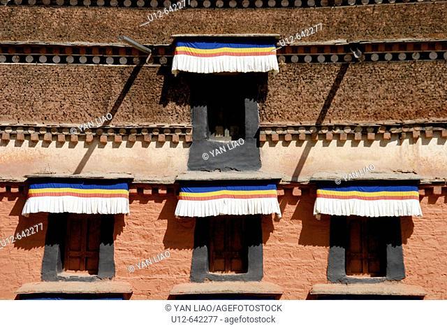Labrang Monastery (Labuleng Si). Gansu. China