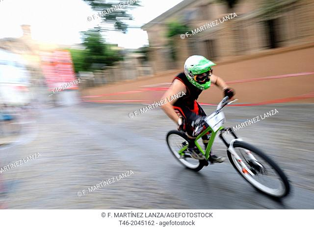 Downhill bike for the city of Toledo