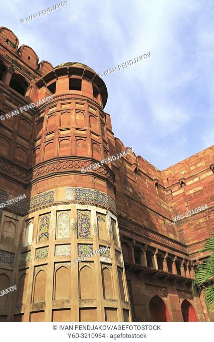 Agra Fort, Uttar Pradesh, India
