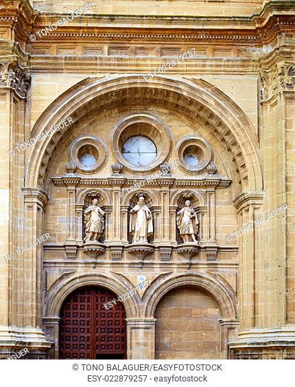 The way of Saint James by Santo Domingo de la Calzada La Rioja