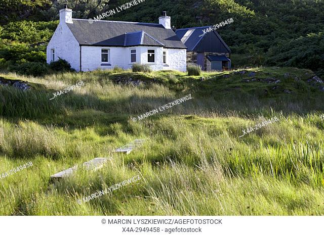 White House on Scottish Coast