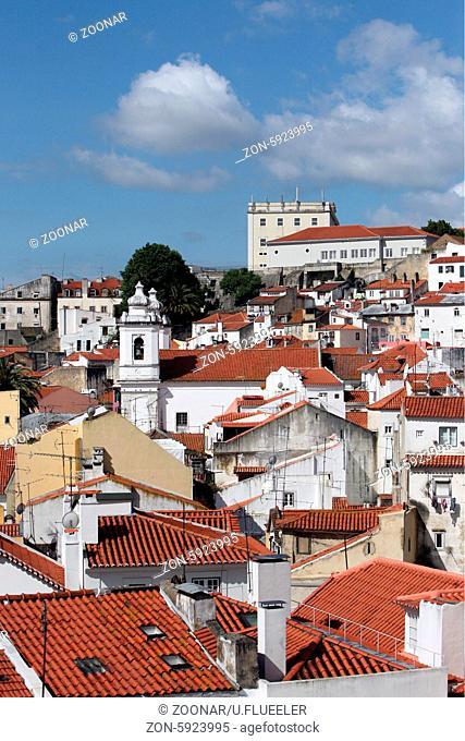 Europa, Westeuropa, EU, Euro, Portugal, Lissabon, Altstadt, Alfama,  (Urs Flueeler)