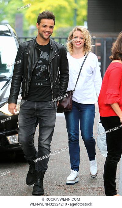 Joanne Clifton and Ben Adams outside ITV Studios Featuring: Joanne Clifton, Ben Adams Where: London, United Kingdom When: 19 Sep 2017 Credit: Rocky/WENN