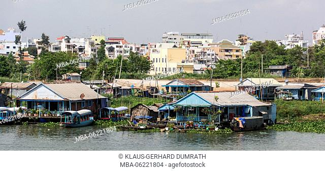 Vietnam, life on the Mekong Delta in Chau Doc