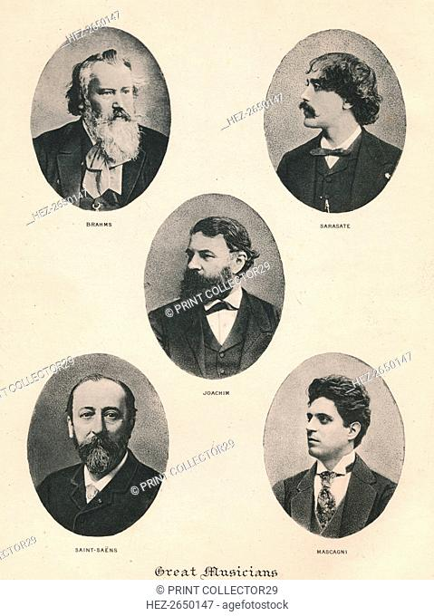 'Great Musicians - Plate VII.', 1895. Artist: Unknown