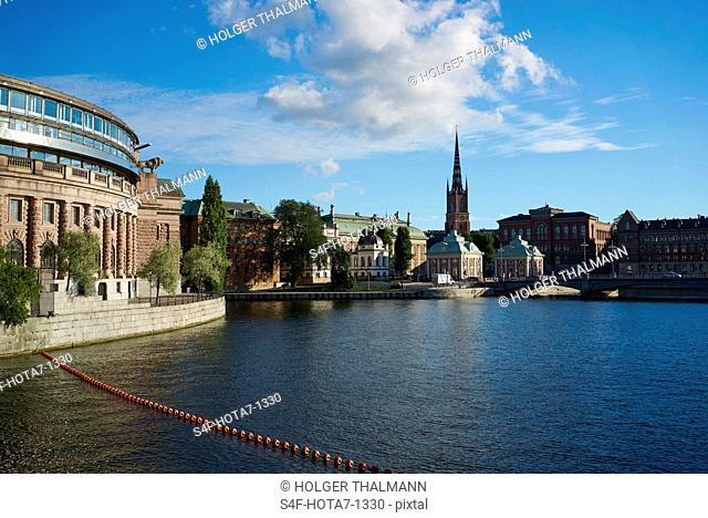 Schweden, Stockholm, Reichstag