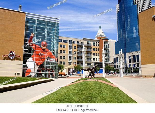 USA, Ohio, Cincinnati, Great American Ballpark