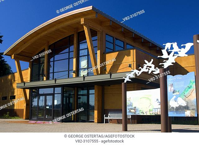 Visitor Center, Tualatin River National Wildlife Refuge, Oregon