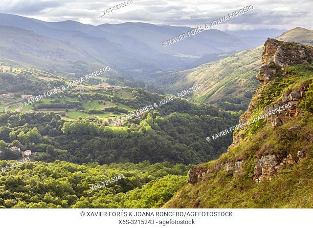 Sierra del Escudo, Valles Pasiegos, Cantabria, Spain