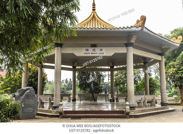 Chinese garden in Taman Mini Indonesia Indah Park, Jakarta