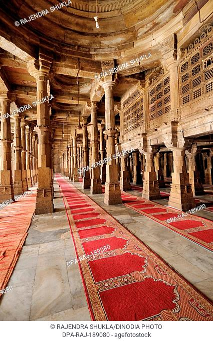 Jama Masjid Champaner Ahmedabad Gujarat India Asia