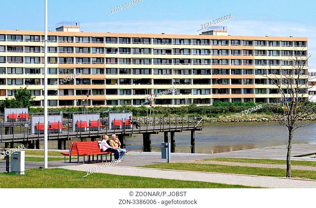 Im Ferienzentrum von Heiligenhafen an der Ostsee / The Ferienzentrum at Heiligenhafen at the Baltic Sea