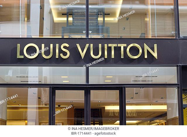 Louis Vuitton, luxury shop, Neuer Wall, Hamburg, Germany, Europe