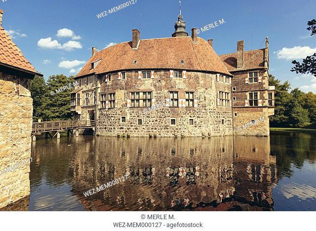 Germany, North Rhine-Westphalia, Luedinghausen, Vischering Castle