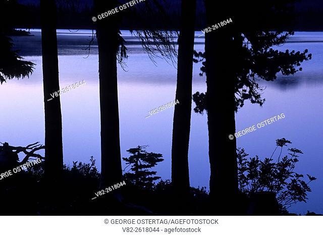 Olallie Lake, Olallie Lake Scenic Area, Mt Hood National Forest, Oregon