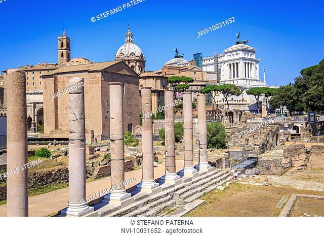 Forum Romanum, Rome, Lazio, Italy