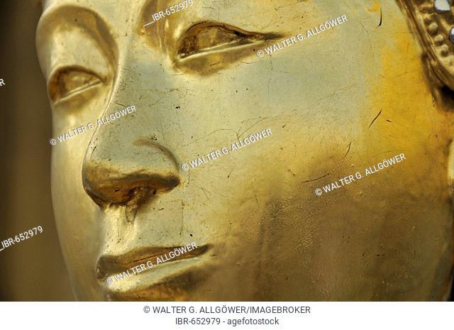 Kinnara (also called Kinari, Kinaree, Kinnaree, Ginnarie or Ginnaree), mythological bird creature, Wat Phra Kaeo Grand Palace (Temple of the Emerald Buddha)