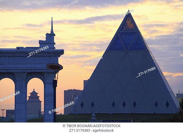 Kazakhstan; Astana; Palace of Peace and Reconciliation,