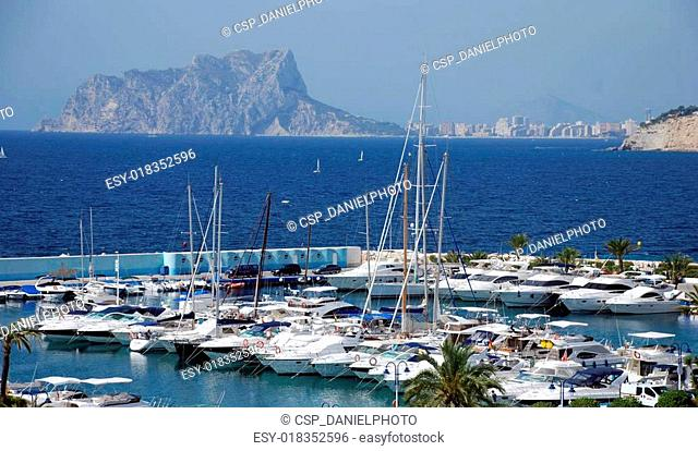 Yacht port Moraira