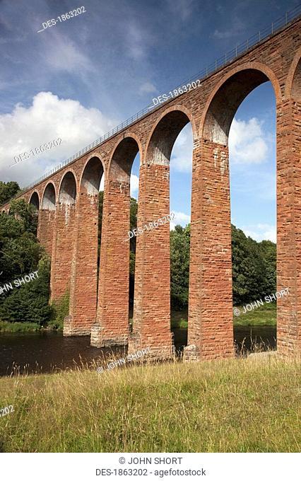 Leaderfoot Viaduct, Scottish Borders, Scotland