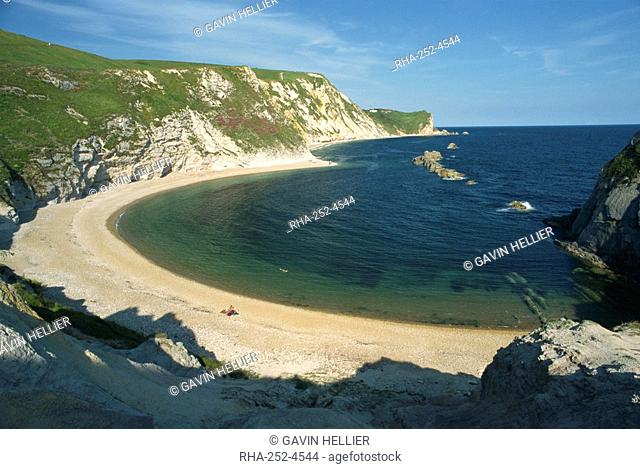 Man'O War Cove, near Lulworth Cove, Dorset, England, United Kingdom, Europe